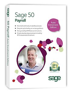 Sage 50 Payroll Auto Enrolment 2014 up to 50 Employees